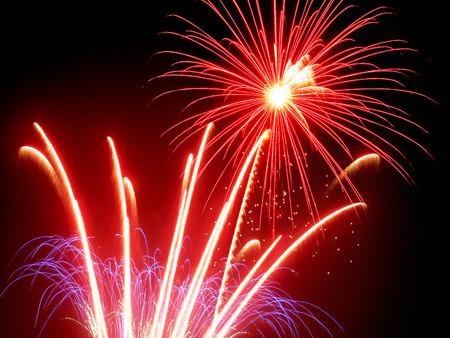 Fireworks Stock Photo - 40268478