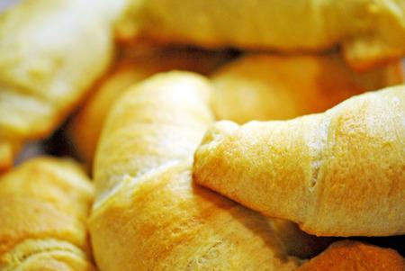 fresh baked: Fresh baked croissants