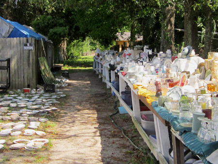 secondhand: Neighborhood yard sale