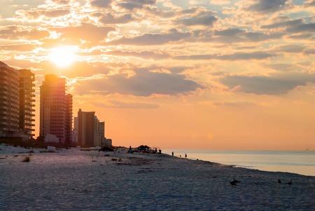 perdido: Sunrise on Perdido Key, Florida.