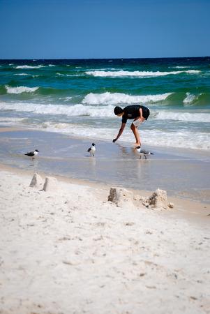 wade: Beachcomber