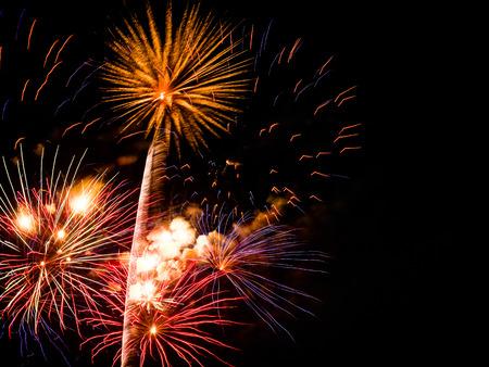 Fireworks bursting Stock Photo - 59933989