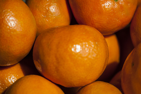 close up: Clementines close up Stock Photo