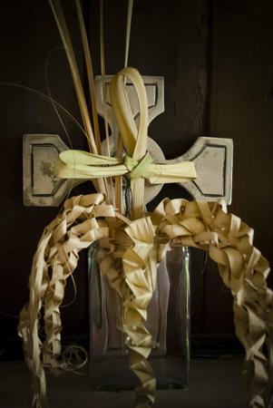 Braided palms, a folk tradition on Palm Sunday