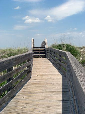 walking trail: Questo lungo percorso a piedi conduce al mare
