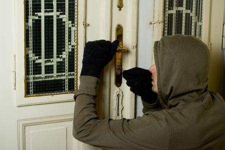 burglary: burglar