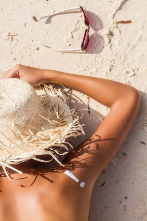 skin cancer: sunburn