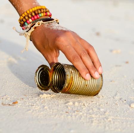Pulizia della spiaggia
