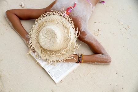 la lettura in spiaggia