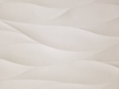 Texture - White tile with wave texture following the latest interior design and architectural trends for showers, kitchen and bathroom walls and back splash details. Stok Fotoğraf