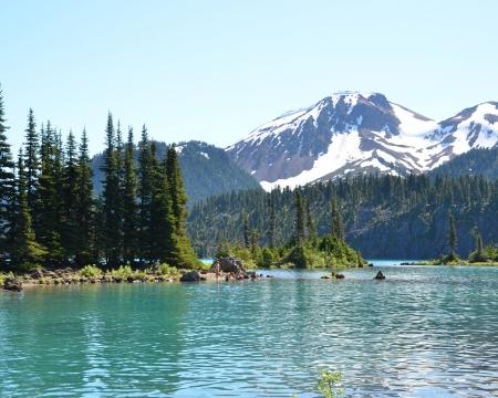 british columbia: Garibaldi Lake, British Columbia, Canada Stock Photo