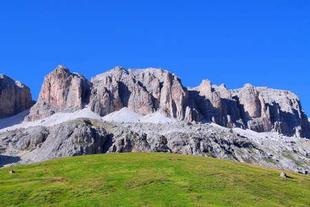 supremacy: Pordoi pass, Trentino, Italy