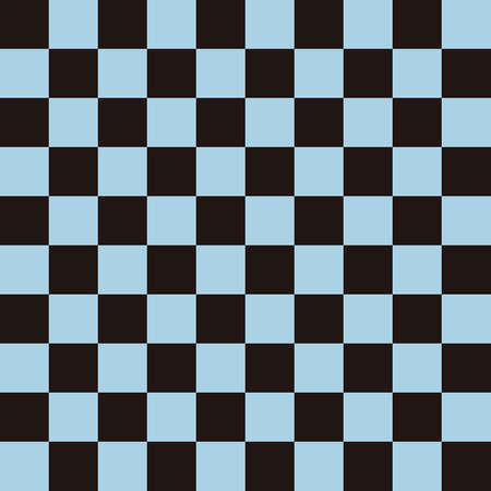 Ichimatsu pattern Black x light blue L 版權商用圖片