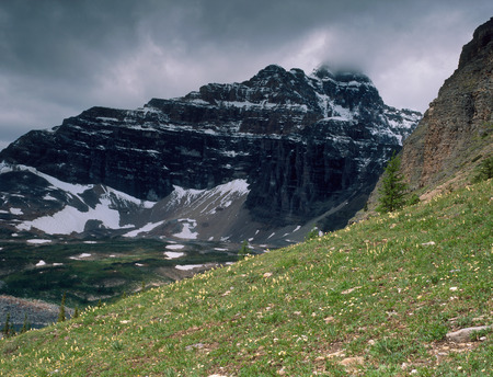 The Eiffel Lake Trail in the Valley of the Ten Peaks, Banff National Park, Alberta