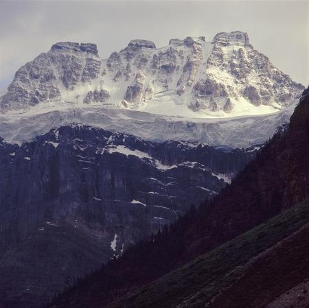 Mount Quadra from Consolation Lakes Trail, Banff National Park, Alberta