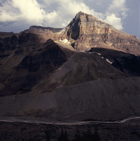 Mount Aberdeen from the Plain of Six Glaciers Trail, Banff National Park, Alberta