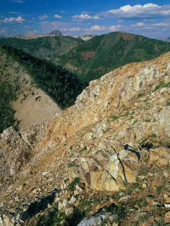 From the summit of Horton Peak, White Cloud Mountains, Idaho