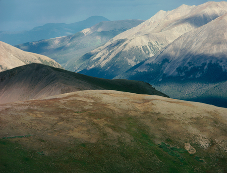 The Sawatch Range and Continental Divide, central Colorado Stock Photo
