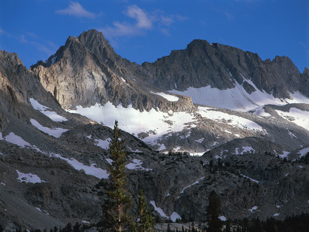 Thompson Ridge in the John Muir Wilderness, Sierra Nevada Range, California