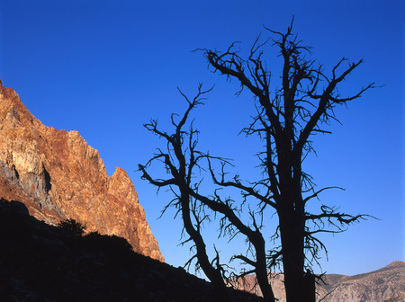 The Paiute Crags in the John Muir Wilderness, Sierra Nevada Range, California