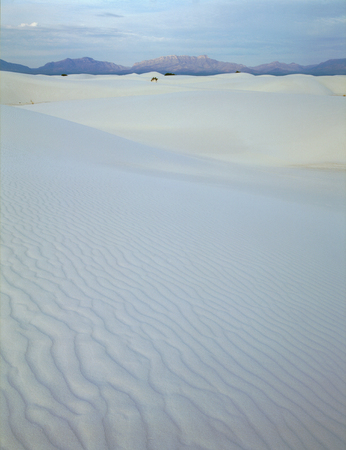 Dawn hike in White Sands National Monument, New Mexico