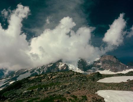 Cloud cap, Mount Rainier National Park, Washington