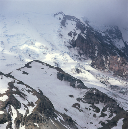 The Emmons Glacier from the Sunrise Rim Trail, Mount Rainier National Park, Washington