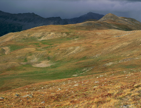 Storm sky above the Browns Pass Trail, Collegiate Peaks Wilderness, Colorado