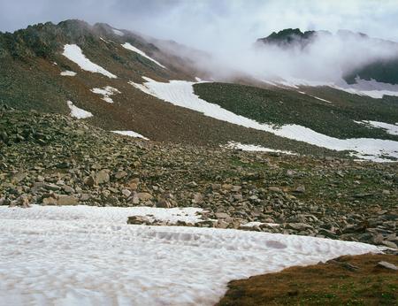Peaks above Lake Hope, San Juan Range, Colorado
