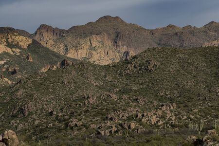 Along the Dutchman Trail, Superstition Mountains, Arizona