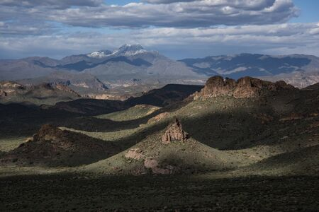 The Superstition Wilderness from Praying Hands, Lost Dutchman State Park, Arizona