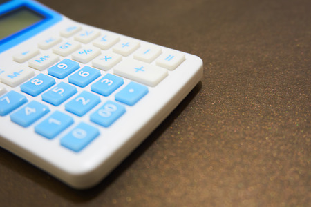 luxuries: calculator Stock Photo