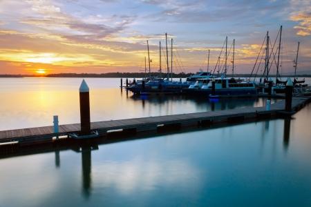 harmonic: Harmonic colors of sunset at Danga Bay, Johore, Malaysia