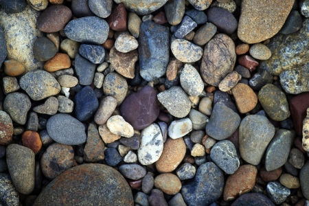 Rocks and pebbles photo