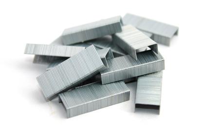 staples: Staples isolated on white