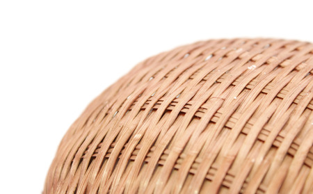 Bamboo basket photo