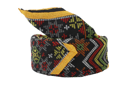sabah: Traditional hat of the Kadazan tribe in Sabah, Borneo, Malaysia