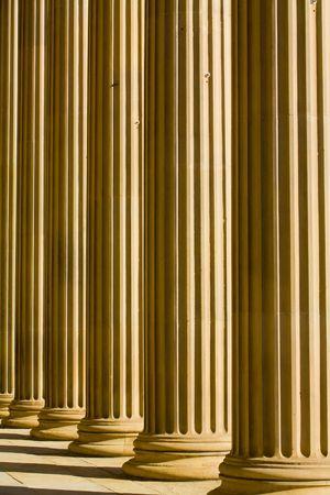doric: imagen de fondo abstracto de columnas d�rica Foto de archivo