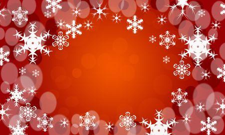 abstract snowflakes photo