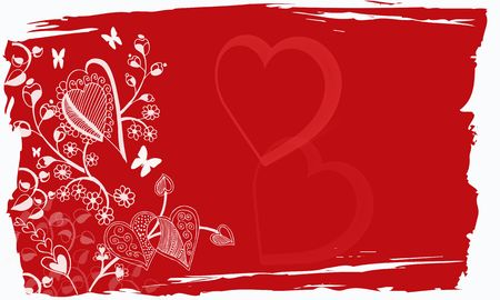 valentine grunge background  Stock Photo - 6144123
