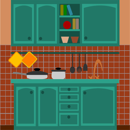 vettoriale: cucina Illustration