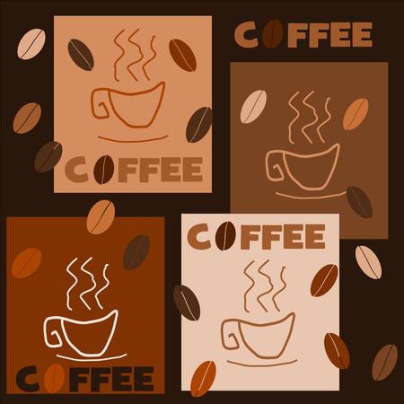 vettoriale: caffè Illustration