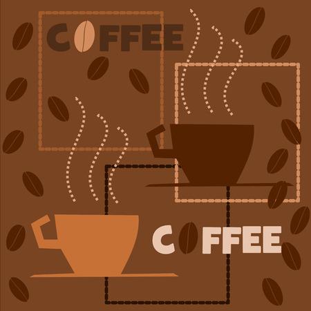 vettoriale: coffee break