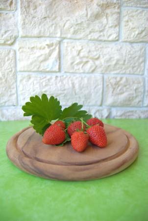 foglie: strawberries