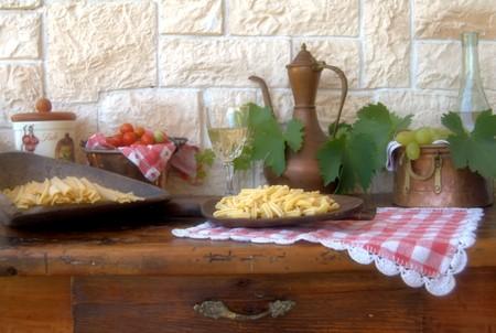 foglie: ingredienti a tavola