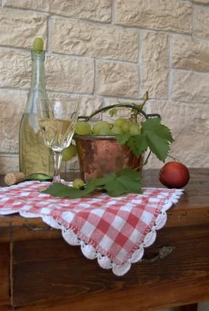 foglie: vino bianco