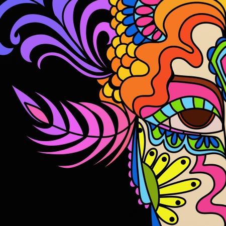 carnaval masker: carnaval masker Stockfoto