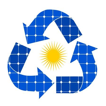 energia solar: panel solar
