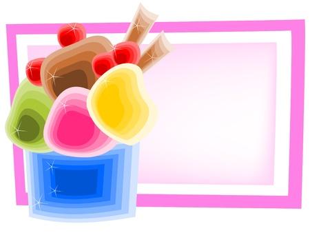 cup ice cream photo