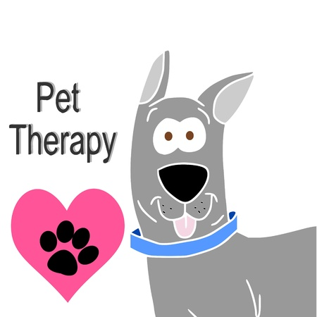 pet therapy Stock Vector - 9699152